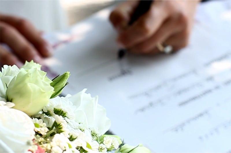 celebrante matrimonio simbolico Tenuta La Quassa