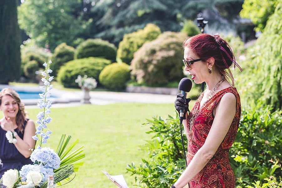 Celebrante matrimonio simbolico Villa Muggia Stresa